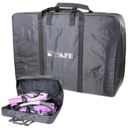 Twin/Inline/Double Travel Bag Luggage Heavy Duty Design for Inline Tandem Travel Tote
