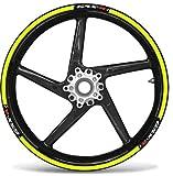 Set Tiras Adhesivo Compatible Ruedas 17 - Suzuki Gsxr