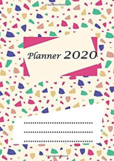 Planner 2020: Format A4 | 135 pages- allows you to plan 365 days | from January 1, 2020 to December 31, 2020.