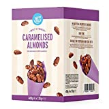 Marca Amazon - Happy Belly Almendras Garrapiñadas, 120g x 4