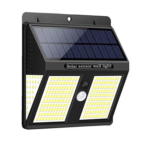 Solarlampen für Außen mit Bewegungsmelder, BILLION DUO 250 LED Solarleuchte Aussen, 270° Solar Beleuchtung 2000mAh, IP65 Sicherheitswandleuchte PIR Solarlicht für Garten/Garage/Zaun