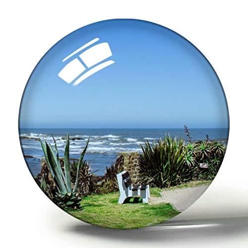 Uruguay Montevideo 3D Kühlschrank Magnet Souvenir Sammlung Reisegeschenk Kreis Kristall Kühlschrank Magnete