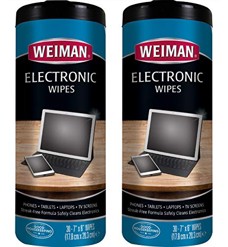 Weiman Electronic Cleaner Wipes - 2…