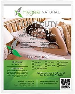 Hygea Natural Vinyl Waterproof Bed Bug Mattress Protector Full/Double Size