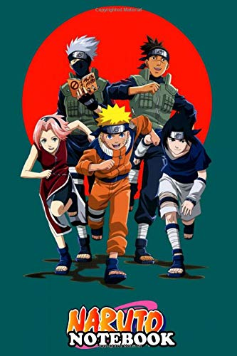 Notebook: Naruto Kakashi Team , Journal for Writing, College Ruled Size 6