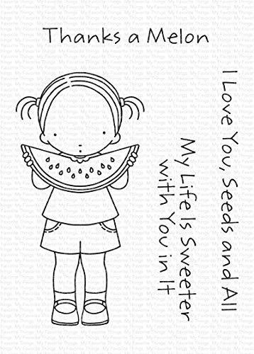 """My Favorite Things Pure Innocence Stamps 3""""X4"""" -Sweet Summertime"""