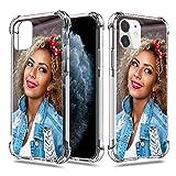 SHUMEI Coque personnalisée pour Apple iPhone 11 6,1Pouce Photo cadeau personnalisée Absorption des...