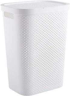 Laundry Bag Panier de rangement sale pour salle de bain ou vêtements sales, seau de rangement durable (taille : 44 x 33,5 ...