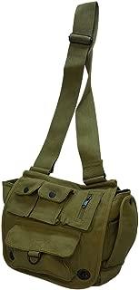 Vintage Canvas Satchel Military Shoulder Bag Adventurer Field Scientist Bag