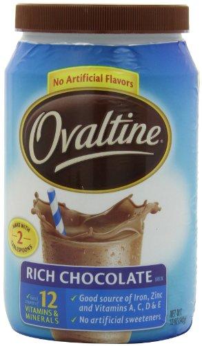 Ovaltine Rich Chocolate - 12 oz - 6 pk
