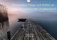 Faszination Stege und Huetten an Seen im bayerischen Voralpenland (Wandkalender 2022 DIN A4 quer): Wunderschoene Momente mit Stegen und Bootshuetten an Seen im bayerischen Voralpenland (Monatskalender, 14 Seiten )