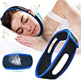 Chin Strap for CPAP Users Anti Snoring Chin Strap for Men and Women, Effective Snore Solution Device for Snoring Relief, Average Size