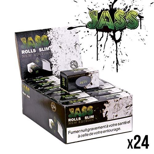 Jass premium slim Rolls 45mm (24x5m) Rollenpapier new edition Papers auf der Rolle