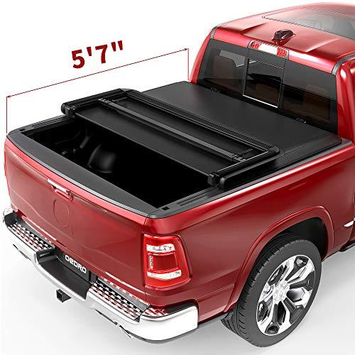oEdRo Soft Tri-Fold Truck Bed Tonneau...