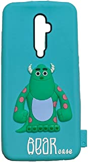 3D Silicone Back Cover For Oppo Reno 2F