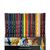 Prismacolor 2427 Premier Verithin Colored Pencils, 24-Count,Assorted