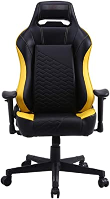 Nero Finta Pelle 124 cm x 54 COUGAR Gaming Fusion Black Poltrona gaming cm profondit/à della seduta