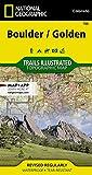 Boulder, Golden (National Geographic Trails Illustrated Map, 100)