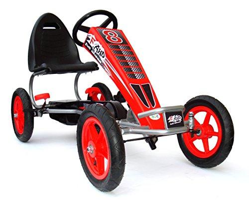 Kinder Pedal Go Kart - 5-12 Jahre, Mit Pedal, Gummireifen