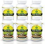 Deals4Goods Sugar Knocker Ayurvedic Medicine for Diabetes, 100% Natural Herbal Product Without Side Effect (540 Veg Capsules for 6 Months) (Pack of 6 Bottel)