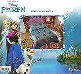Frozen Disney Singola colore blu 100% Poliestere. Calore, Leggerezza E Morbidezza Lavabile in lavatrice a 30°