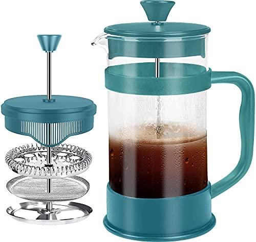 KICHLY - 1 litro / 1000 ml (8 tazze) Caffettiera a...