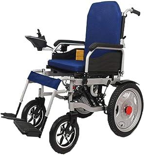FTFTO Inicio Accesorios Ancianos Discapacitados Silla de Ruedas eléctrica portátil Ligera Silla eléctrica Plegable Eabs Sistema de Frenos Inteligente Pedal Desmontable Gris