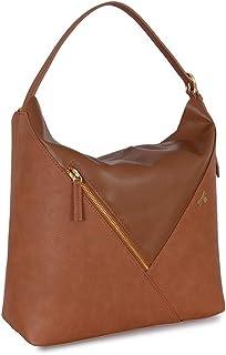 Baggit Women's Shoulder Bag (Tan-Gold)
