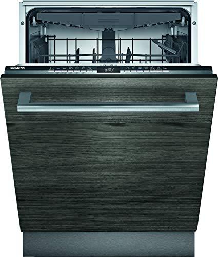 Siemens Lavavajillas totalmente integrado SX63HX60CE iQ300, D, 85 kWh, 2660 L/año, compatible con Smart Home Connect, varioSpeed Plus, variocajón.