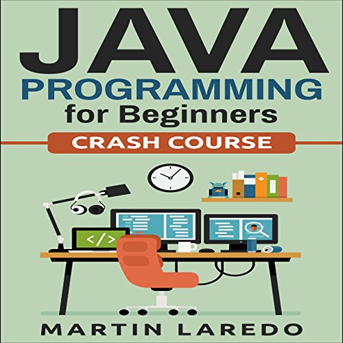 Java Programming for Beginners audiobook cover art