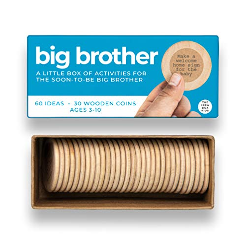The Idea Box Kids Big Brother - Activities for The Soon-to-be Big Brother