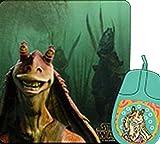 Star Wars 'Jar Jar' Mouse & Mat