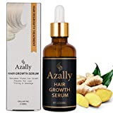 Hair Growth Serum by AZALLY - Best Treatment for Hair Thinning - Hair