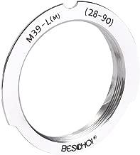 Beschoi Aluminum Lens Mount Adapter Ring for M39 Crew Mount Lens to Lecia M Mount (28-90) Lens dapter Ring