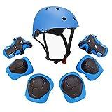 F&U Deportes juventud equipo de protección Conjunto para Azul