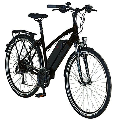 "Prophete E-Bike, 28\"", Entdecker e8.6, Hinterradmotor, 36V,250W, max.30 Nm, SHIMANO 24-Gang Kettenschaltung, AEG Downtube-Akku, Lithium-Ionen, 36V, 10,4Ah (374Wh), Alu-Trekking-Premium-Rahmen"