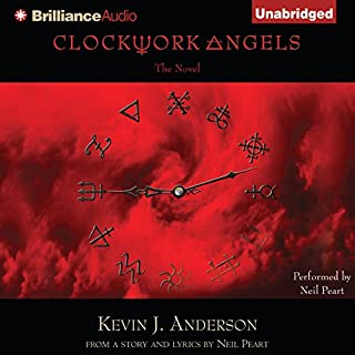 Clockwork Angels audiobook cover art