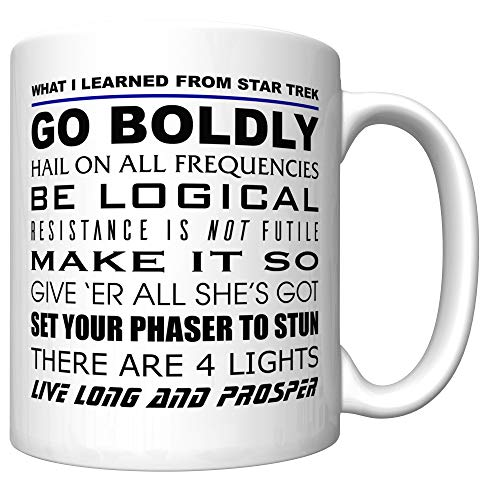 Our #1 Pick is the What I Learned from Star Trek Coffee Mug