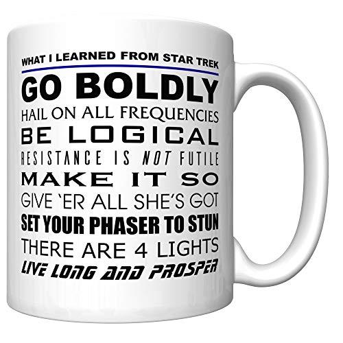 What I Learned From Star Trek Mug