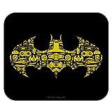 Batman Batman Icons Logo Low Profile Thin Mouse Pad Mousepad