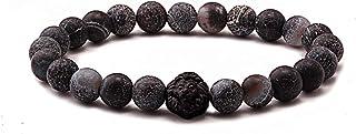 عتيق اسوارة خرز للرجال، متعددة، LN-Black010