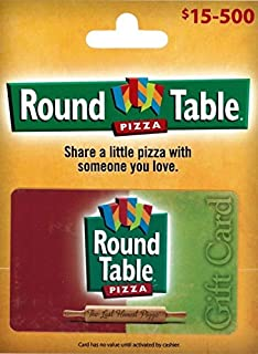 Round Table Pizza Gift Card
