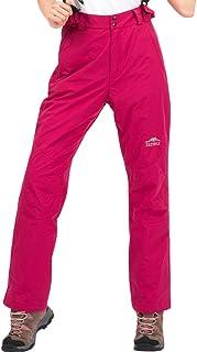Topsky 远行客 秋冬新款男女款户外抓绒内胆防风保暖可拆背带滑雪冲锋裤 10918A