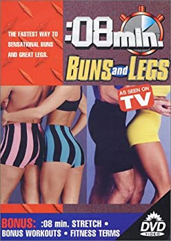 DVD 8 Minute Buns & Legs Book