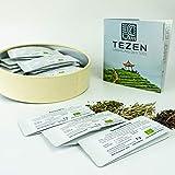Tee Probierset mit 20 hochwertigen Tees und ausführlichem Handbuch   Ideal als Tee Geschenk in schöner Geschenkdose