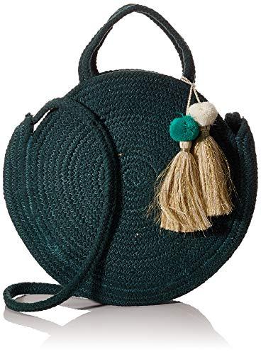 PIECES Damen PCNILO Jute Bag SWW Handgelenkstasche, Sycamore, 35 EU