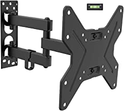 Fleximounts 13-42 Inch TV Wall Mount Bracket Full Motion Articulating Arms Swivel and Tilt fit for Max VESA 200x200mm TV L...