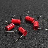 JSJJAWS Condensadores 5pcs audiofilero axial MKP 0.33UF 630V 334 630V DC HiFi DIY Capacitor de Grado de Audio para Tubos Amplificadores de Guitarra confiable