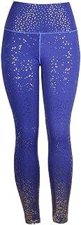 Beiziml Stamping Yoga Pants Women Gym Slim Fit Sports Leggings Golden Print High Waist Push Up Fitness Leggings Athletic P...