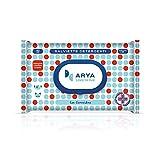 Arya Toallitas limpiadoras para perros y gatos, clorexidina, 40 unidades